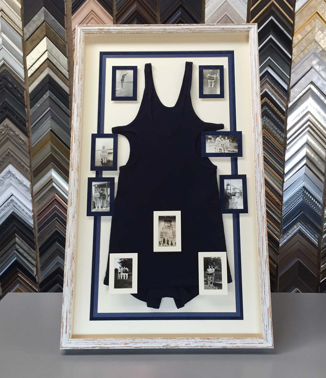 custom framed keepsake