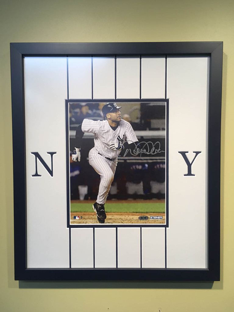 Frame that signed photo