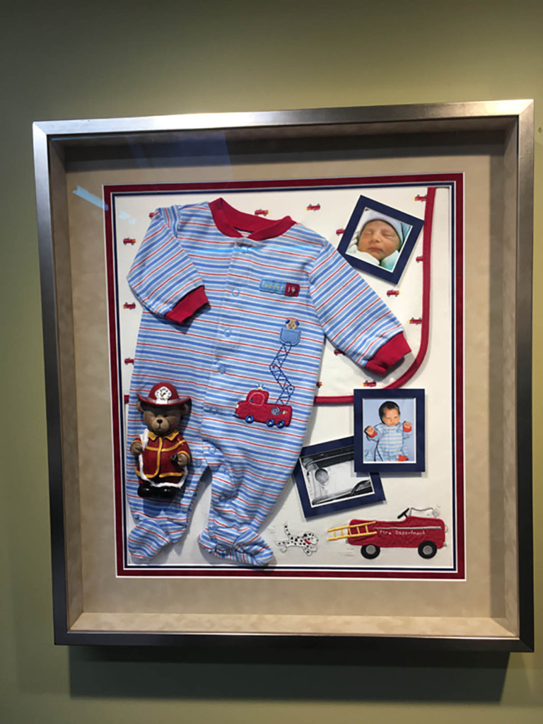 Frame your baby items